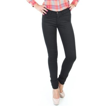 Abbigliamento Donna Jeans skynny Wrangler Jaclyn INK LUX W26DBI33L black