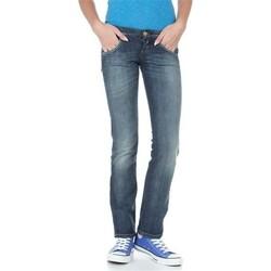 Abbigliamento Donna Jeans dritti Lee Lynn L38418HD blue