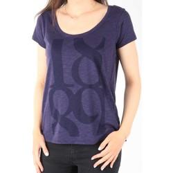 Abbigliamento Donna T-shirt maniche corte Lee T-Shirt  Scoop Mystic Plum 40KFL87 blue