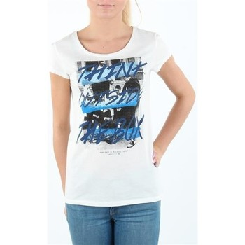 Abbigliamento Donna T-shirt maniche corte Lee T-shirt Damski SLIM T CLOUD DANCER L41MEVHA white