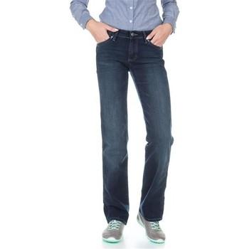 Abbigliamento Donna Jeans dritti Wrangler Sara W212QC818 granatowy
