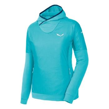 Abbigliamento Donna Felpe in pile Salewa Bluza  Pedroc PTC Alpha W Hoody 26355 blue