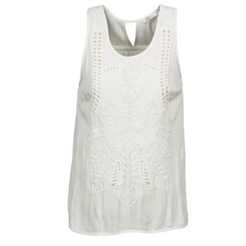Abbigliamento Donna Top / T-shirt senza maniche See U Soon CHELSEA Bianco / Grigio