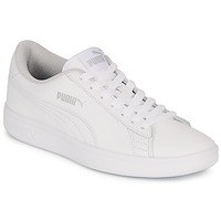 Scarpe Unisex bambino Sneakers basse Puma SMASH V2 L JR Bianco