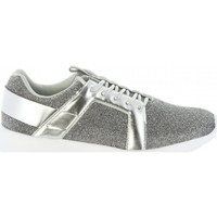 Scarpe Donna Sneakers basse Bass3d SNEAKERS DONNA 41436 GLITTER SILVER Argento