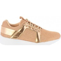 Scarpe Donna Sneakers basse Bass3d SNEAKERS DONNA 41436 GLITTER NUDE rosa