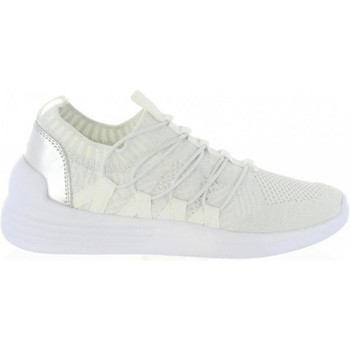 Scarpe Donna Sneakers basse Bass3d SNEAKERS DONNA 41489 ELASTICO WHITE Bianco
