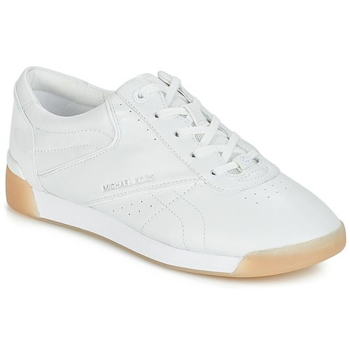 Scarpe Donna Sneakers basse MICHAEL Michael Kors ADDIE LACE UP Bianco