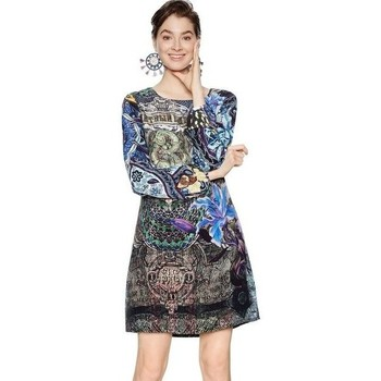 Abbigliamento Donna Abiti corti Desigual 18SWVWD0 5000-UNICA-40 Vestito  Blu