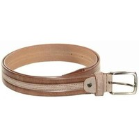 Accessori Uomo Cinture Made In Italia CINTURA UOMO  1259 MARRONE Marron