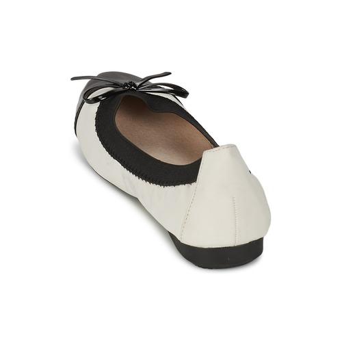2470 Gratuita Moony Mood Vadoumi Consegna Scarpe Donna Ballerine BiancoNero bgymvY7I6f
