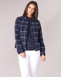 Abbigliamento Donna Giacche / Blazer Scotch & Soda VELERIANS Marine
