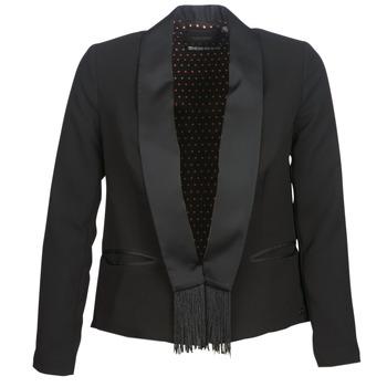 Abbigliamento Donna Giacche / Blazer Scotch & Soda BOUKOUM Nero