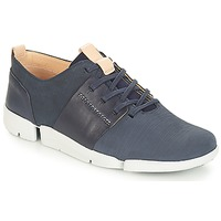 Scarpe Donna Sneakers basse Clarks Tri Caitlin Navy / Combi