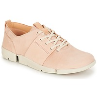 Scarpe Donna Sneakers basse Clarks Tri Caitlin Nude / Pink