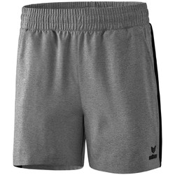 Abbigliamento Donna Shorts / Bermuda Erima Short femme  Premium One 2.0 gris chiné/noir