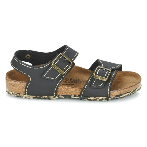 Consegna Bambino York Gratuita Birki's New Scarpe 3250 Black Sandali eWY29bDIEH