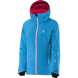 Abbigliamento Donna giacca a vento Salomon Kurtka  Whitecliff W 374721 blue