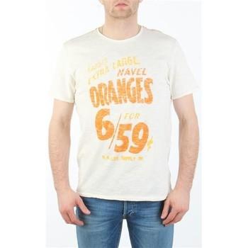 Abbigliamento Uomo T-shirt maniche corte Lee MARCANTILE L668ABBC white
