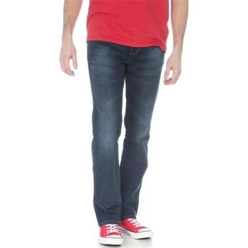 Abbigliamento Uomo Jeans dritti Wrangler Arizona Stretch W12O8343C granatowy