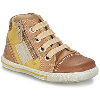 Scarpe Bambino Sneakers alte Citrouille et Compagnie MIXINE Marrone