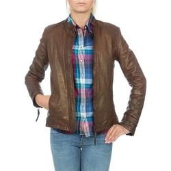 Abbigliamento Donna Giacche / Blazer Wrangler skórzana  WR4030ZC81 brown
