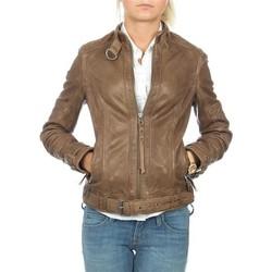 Abbigliamento Donna Giacche / Blazer Wrangler skórzana  Montana WR4044ZCBR brown