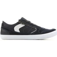 Scarpe Uomo Sneakers basse Geox U Box C - Suede+Nylon U82R3C 022FU C4002 granatowy