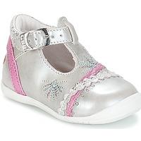 Scarpe Bambina Ballerine GBB MARINA Argento - fuschia
