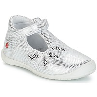 Scarpe Bambina Sneakers basse GBB MARGOT Argento