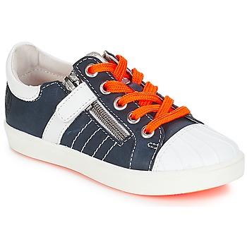 Scarpe Bambino Sneakers basse GBB MAXANCE VTE MARINE-BLANC DPF/2706