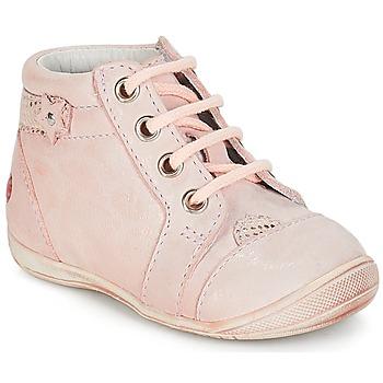 Scarpe Bambina Stivaletti GBB PRIMROSE Rosa / Pelle