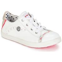 Scarpe Bambina Sneakers basse Catimini PANDA Bianco / Venus