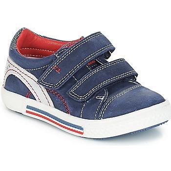 Scarpe Bambino Sneakers basse Catimini PERRUCHE Marine-rosso / Strike