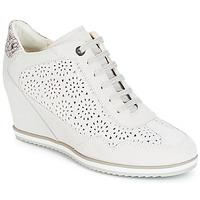 Scarpe Donna Sneakers alte Geox D ILLUSION Bianco