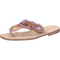 Scarpe Donna Sandali Eddy Daniele sandali multicolor pelle perline ax895 Multicolore