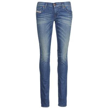 Abbigliamento Donna Jeans slim Diesel GRUPEE Blu
