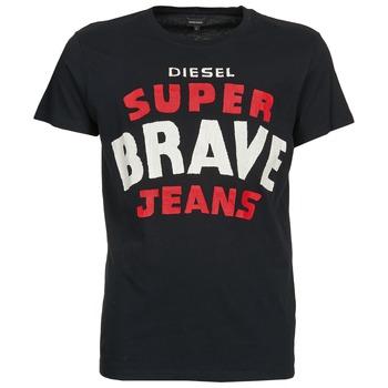 Abbigliamento Uomo T-shirt maniche corte Diesel T-ASTERIOS Nero