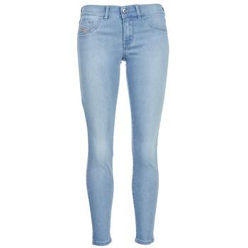 Abbigliamento Donna Jeans slim Diesel LIVIER ANKLE Blu / CLAIR