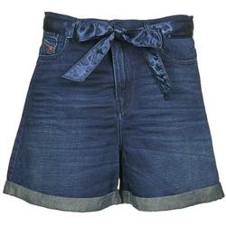 Abbigliamento Donna Shorts / Bermuda Diesel DE-KAWAII Blu / SCURO