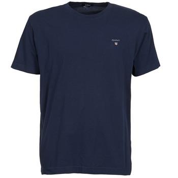 Abbigliamento Uomo T-shirt maniche corte Gant SOLID Marine