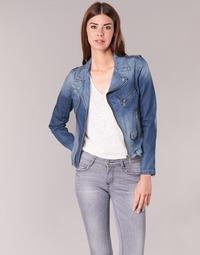 Abbigliamento Donna Giacche in jeans Schott JANIS Blu
