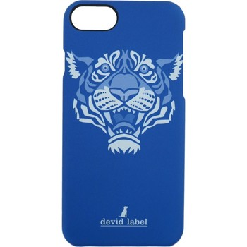 Borse Fodere cellulare Devid Label TIGER IPHONE CASE | BLU |  | CVTGR Blu