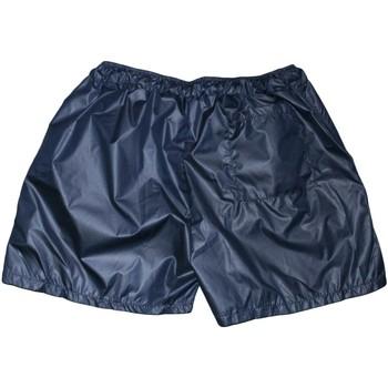 Abbigliamento Uomo Shorts / Bermuda Avana Costume uomo art. 098 monocromatico blu in tessuto semilucido op BLU