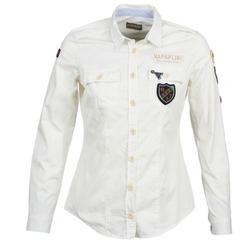 Abbigliamento Donna Camicie Napapijri GLENDA Bianco