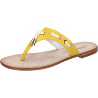 Scarpe Donna Sandali Eddy Daniele sandali giallo camoscio aw322 Giallo