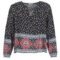 Abbigliamento Donna Top / Blusa Casual Attitude WASAS Nero / Multicolore
