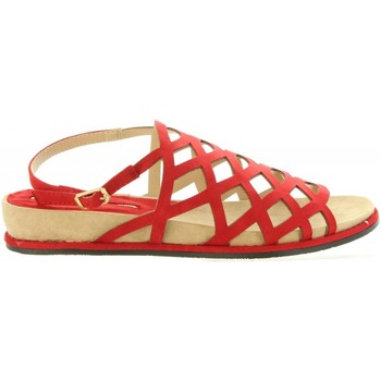 Scarpe Donna Sandali Maria Mare 67074 Rojo