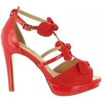 Scarpe Donna Sandali Maria Mare 67136 Rojo