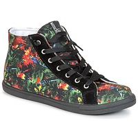Scarpe Donna Sneakers alte Love Moschino JA15132G0KJE0000 Nero / Multicolore